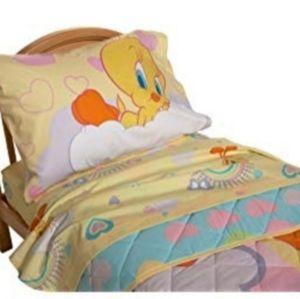 Tweety toddler sheet set